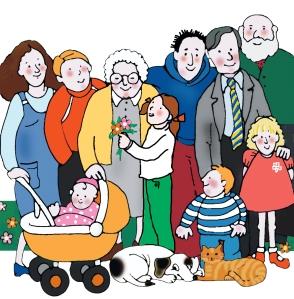 famiglia numerosa